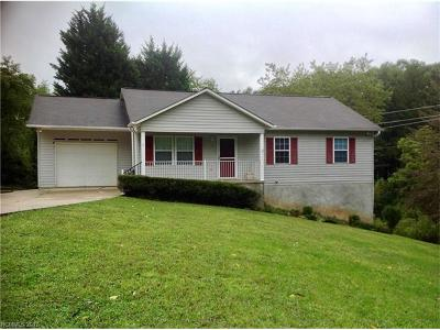 Asheville Single Family Home For Sale: 5 Rash Road #2