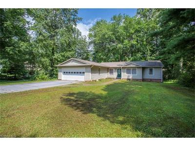 Hendersonville Single Family Home Under Contract-Show: 134 Underhill Road