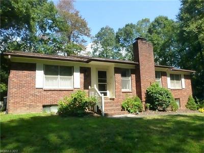 Hendersonville Single Family Home For Sale: 302 Haywood Knolls Drive