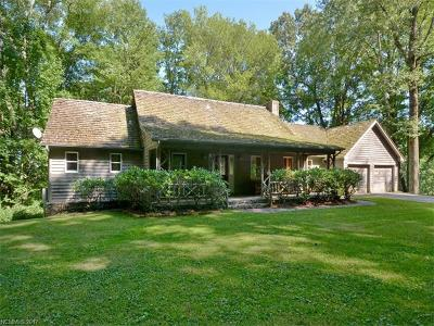 Waynesville Single Family Home For Sale: 1695 Walnut Creek Road
