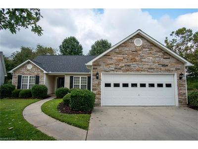 Fletcher NC Single Family Home Under Contract-Show: $265,000
