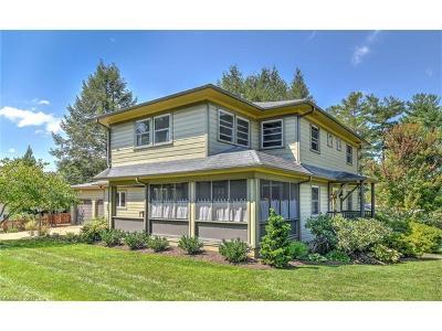 Asheville Single Family Home For Sale: 71 Garden Circle