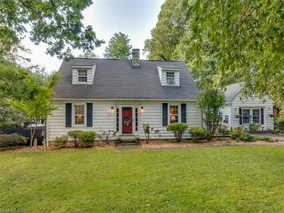 Hendersonville Single Family Home Under Contract-Show: 116 Rock Hill Avenue