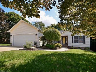 Hendersonville Single Family Home For Sale: 2330 Rosemont Road #1