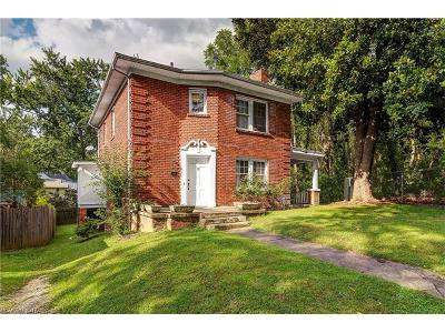 Asheville Single Family Home For Sale: 12 Furman Court