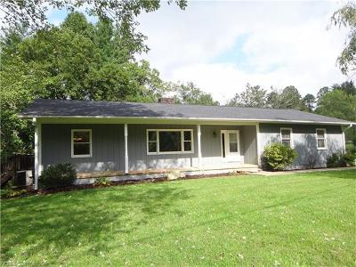Brevard Single Family Home For Sale: 258 Illahee Road