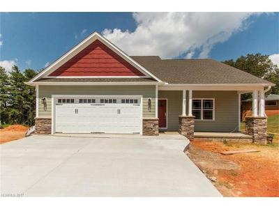 Weaverville Single Family Home Under Contract-Show: 81 Salem Road