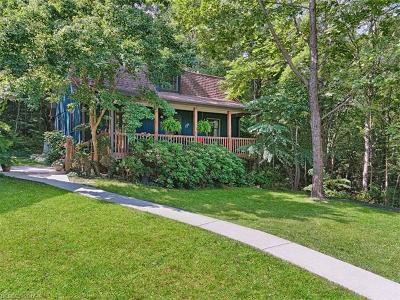 Black Mountain Multi Family Home For Sale: 2 & 4 Last Resort Road