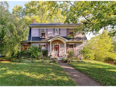 Asheville Single Family Home For Sale: 23 Brucemont Place