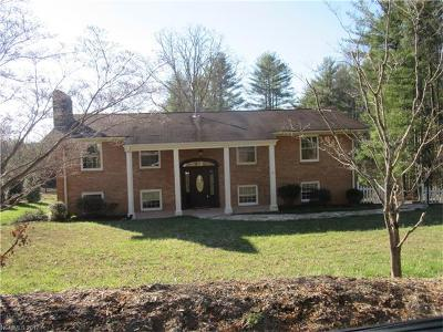 Hendersonville Single Family Home For Sale: 2244 Old Kanuga Road