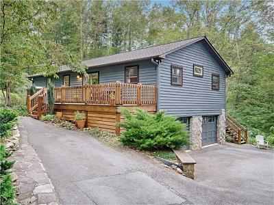 Asheville Single Family Home Under Contract-Show: 51 Webb Springs Road