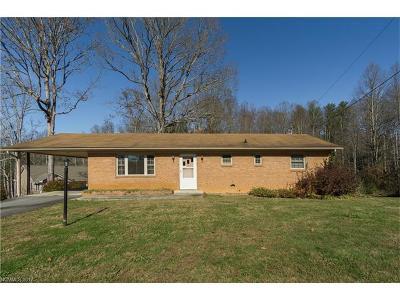 Brevard Single Family Home For Sale: 395 & 415 Osborne Road