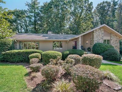 Asheville Single Family Home Under Contract-Show: 6 E Baird Mountain Road