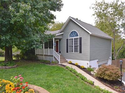 Hendersonville Single Family Home For Sale: 14 Lakewood Road