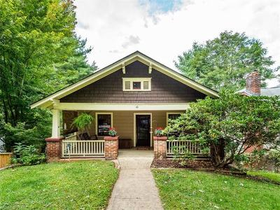 Asheville Single Family Home For Sale: 49 Euclid Boulevard