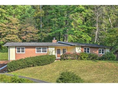 Asheville Single Family Home For Sale: 14 Robinhood Road