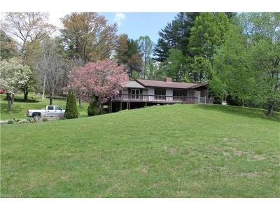 Hendersonville Single Family Home For Sale: 1532 Crab Creek Road