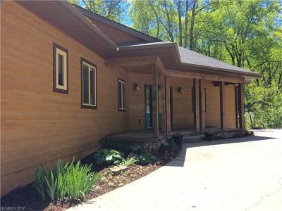 Asheville Single Family Home Under Contract-Show: 2871 Town Mountain Road