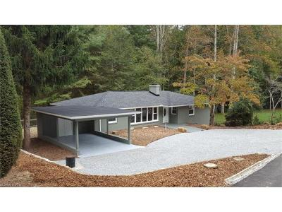 Hendersonville Single Family Home Under Contract-Show: 28 Hill Top Circle N