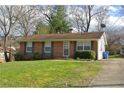 Asheville Single Family Home For Sale: 21 Stevens Hill Road