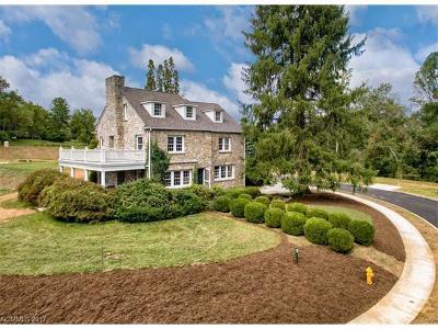 Asheville Single Family Home For Sale: 41 Malvern Walk