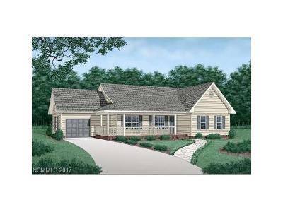 Hendersonville Single Family Home For Sale: 18 Trillium Meadows Lane #1
