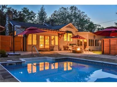 Asheville Single Family Home For Sale: 4 Cherry Lane