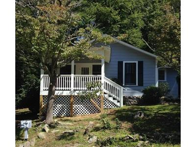 Bat Cave, Gerton Single Family Home Under Contract-Show: 57 Chestnut Hill Road