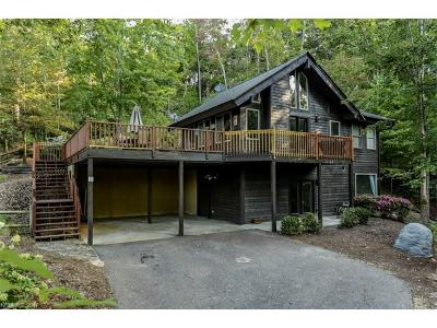 Lake Lure Single Family Home Under Contract-Show: 145 Lur Akers