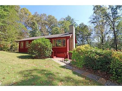 Pisgah Forest Single Family Home Under Contract-Show: 426 Bass Lake Drive #3&4