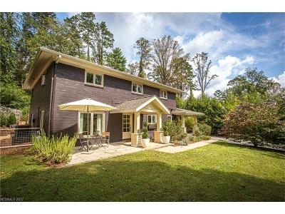 Asheville Single Family Home For Sale: 252 Lakewood Drive