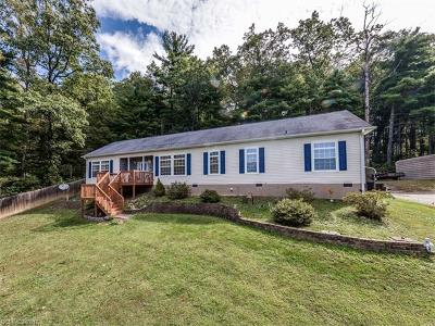 Single Family Home For Sale: 288 Gap Creek Road