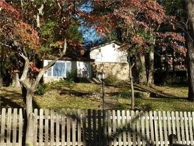 Asheville Single Family Home Under Contract-Show: 14 E Shore Drive