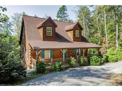 Lake Lure Single Family Home For Sale: 225 Chipmonk Trail