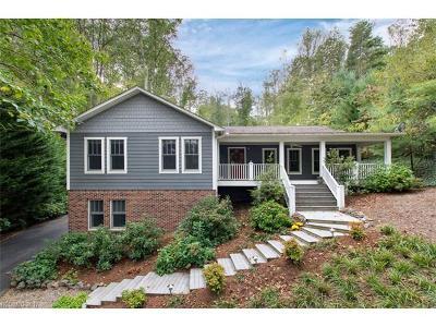 Asheville Single Family Home For Sale: 27 Oak Hollow Drive