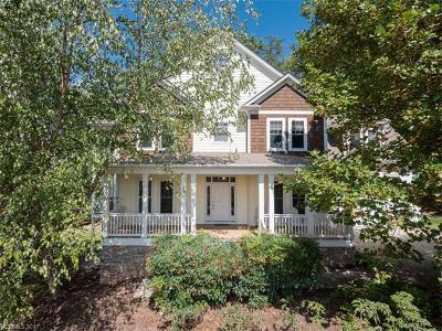 Asheville Single Family Home For Sale: 20 Rosebay Lane