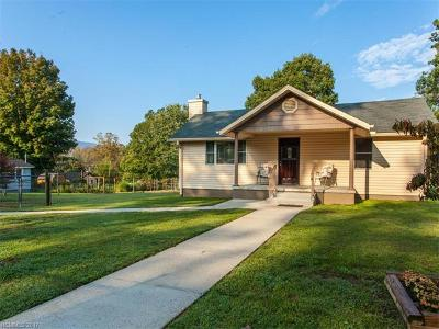 Black Mountain Single Family Home Under Contract-Show: 313 S Oconeechee Avenue
