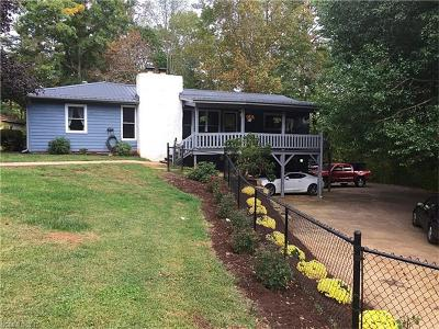 Candler Single Family Home For Sale: 266 Big Cove Road
