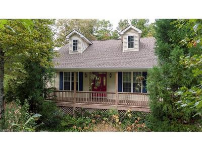 Transylvania County Single Family Home Under Contract-Show: 21 Arbor Lane