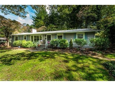 Asheville Single Family Home For Sale: 6 Huntington Road