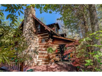 Black Mountain Single Family Home Under Contract-Show: 21 Bear Track Road