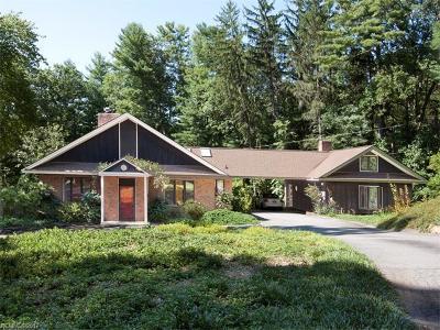 Asheville Single Family Home For Sale: 394 Vanderbilt Road
