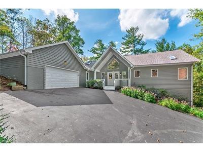 Asheville Single Family Home For Sale: 101 Deer Run #Lot 15 &