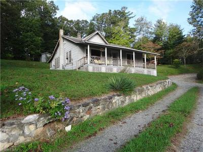 Brevard Single Family Home Under Contract-Show: 944 Old Rosman Highway