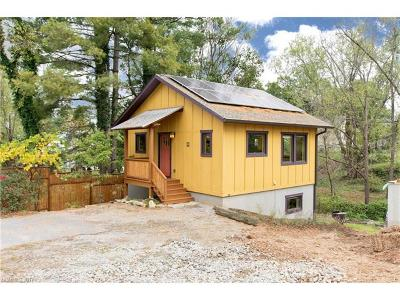 Asheville NC Single Family Home For Sale: $269,000