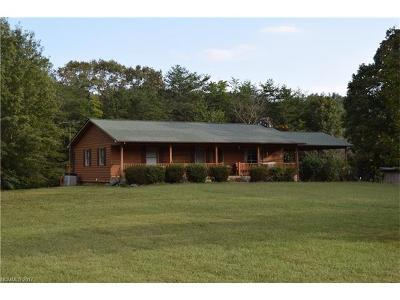 Union Mills Single Family Home For Sale: 2152 Camp Creek Road