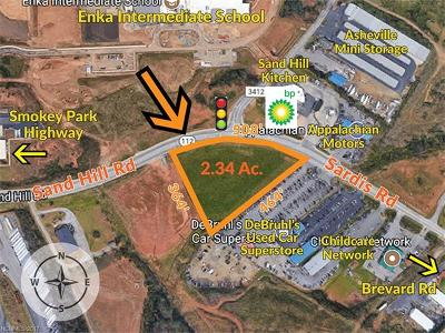Asheville Residential Lots & Land For Sale: 9999 Sardis Road
