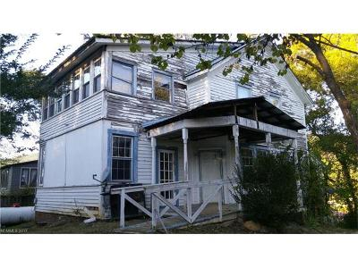Hot Springs Single Family Home For Sale: 89 Hill Street
