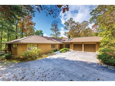 Lake Toxaway Single Family Home For Sale: 2978 West Club Boulevard