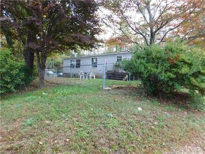 Brevard Manufactured Home For Sale: 78 Sassy Ridge Lane